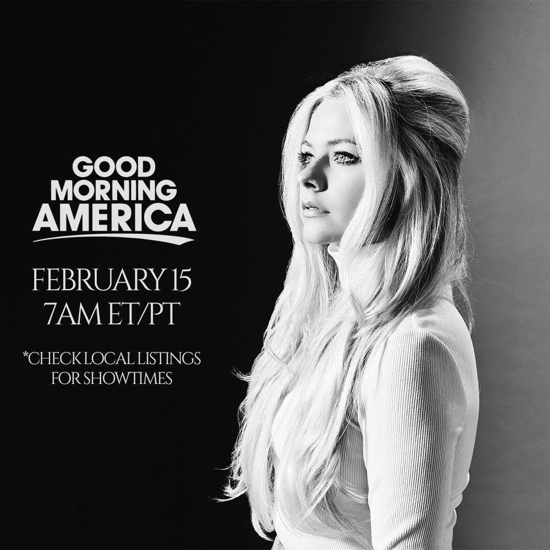 Tune in to @ABCNetwork February 15 at 7 AM ET/PT, to watch me perform on @GMA! https://t.co/Qg6u8RFoBD