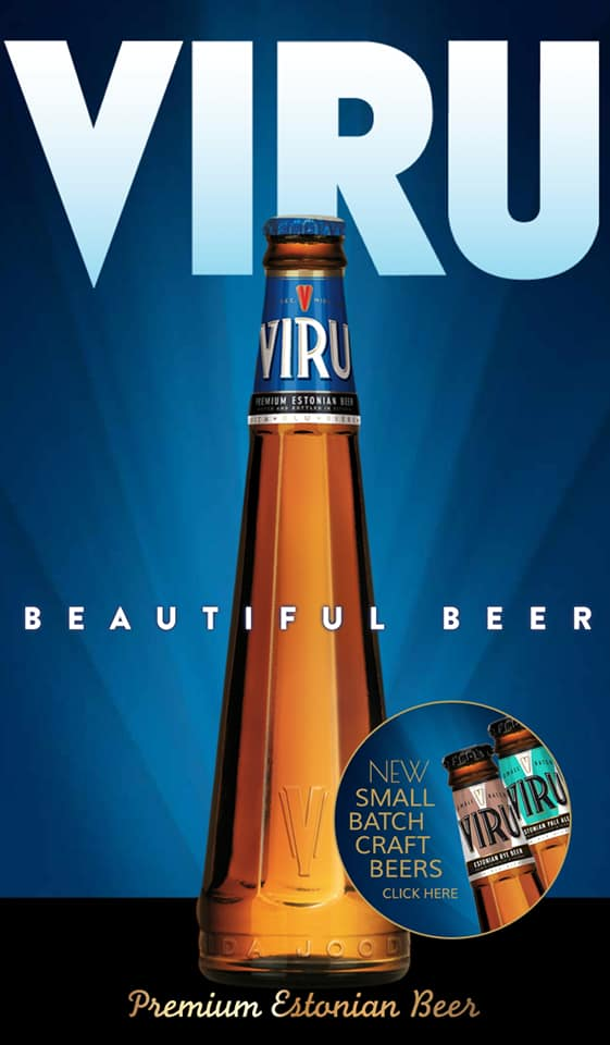 A new addition to our fridges is @ViruBeer lager. Made in Estonia, the bottle is styled after the historic towers of Old Tallinn in the Capital of Estonia.  A 5% pilsner style lager with flavours consistent with malt and a hint of caramel. Just £3.95 a bottle. https://t.co/sjlxtuwRv3