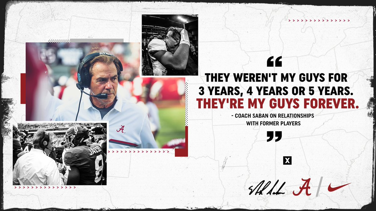 RT @AlabamaFTBL: More than a game. Building relationships that last forever. #OutworkYesterday #Rolltide https://t.co/OyfLRENgAE