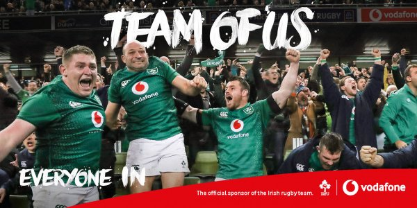 We're In ✅ @IrishRugby are in ✅ Are you in? #TeamOfUs Everyone In #IREvENG https://t.co/SVH47mFjlD