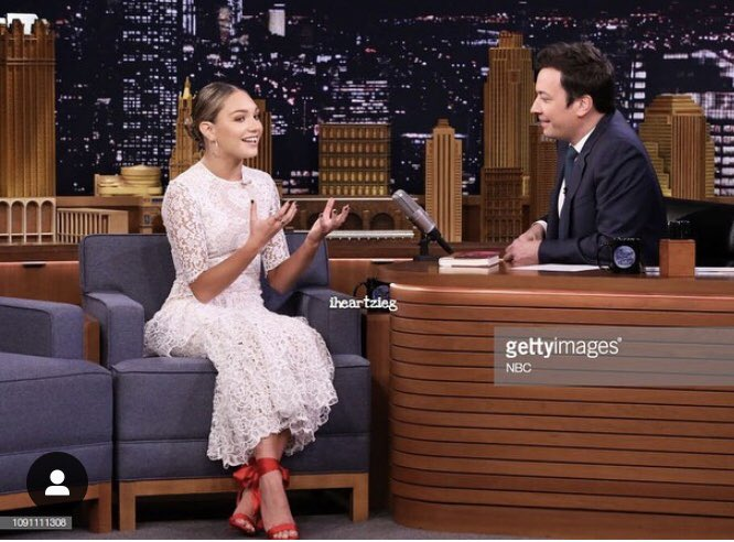 So proud of my noonieburger @maddieziegler who's on Fallon tonight showing us what a special little dork she is! https://t.co/PKaQEF1CxA