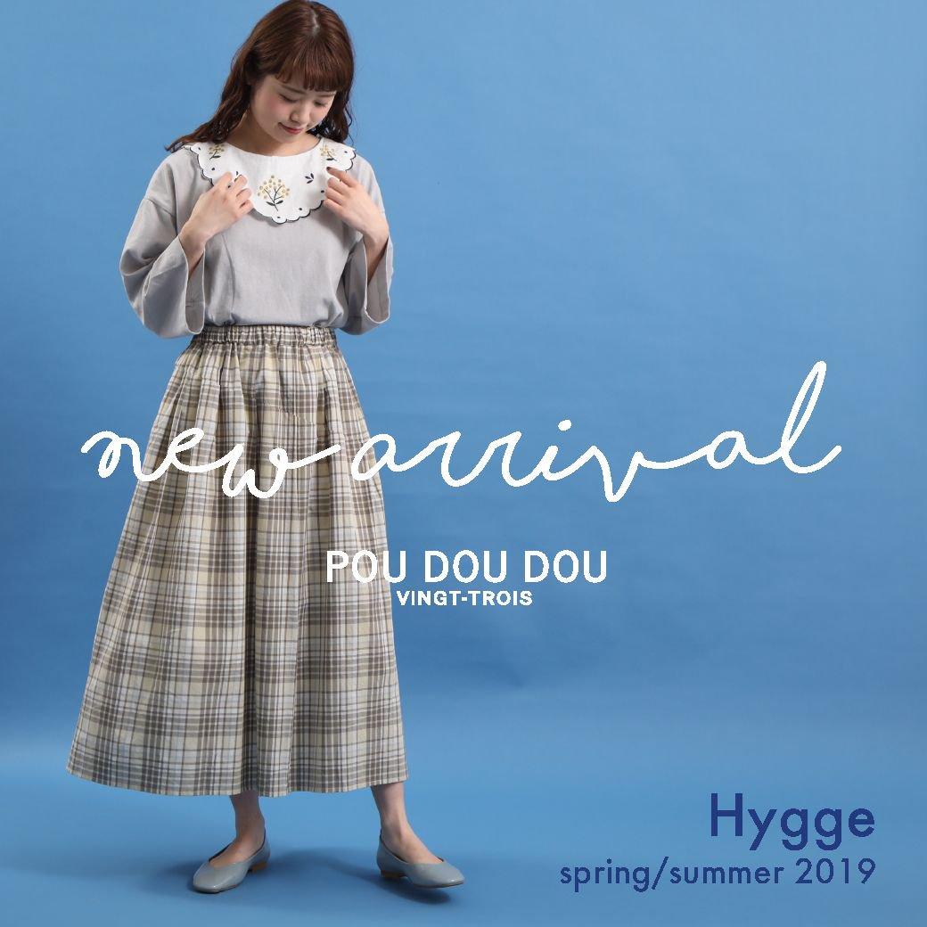 【NEW ARRIVAL】spring 2019  Hygge @poudoudouBLOG   https://t.co/QsfFPPLcxC https://t.co/X5ni5SHV0d