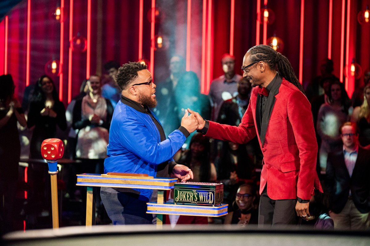 thanks for watching on the east coast ???????? we back at 1030 for my west coast fam ! #JokersWild https://t.co/c13nczPaUw