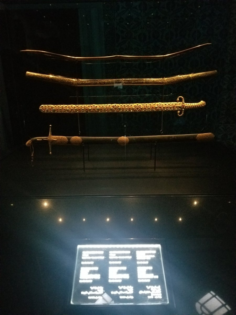 RT @Bizenjo: Bows and Swords of Prophet Mohammad (s). #TopkapiPalace #Turkey #Istanbul https://t.co/LemS42pnBb