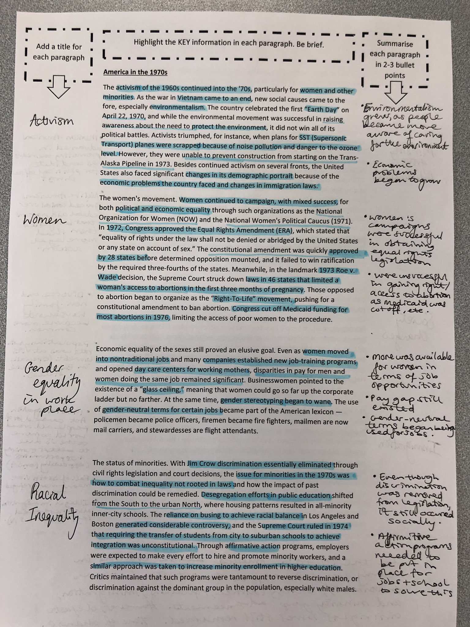 Another brilliant example of guided reading and annotating of text. This time with Year 13 because I thought they needed a refresher in deep reading. #historyteacher #educhat #histchat https://t.co/N4Y7TSqpOY