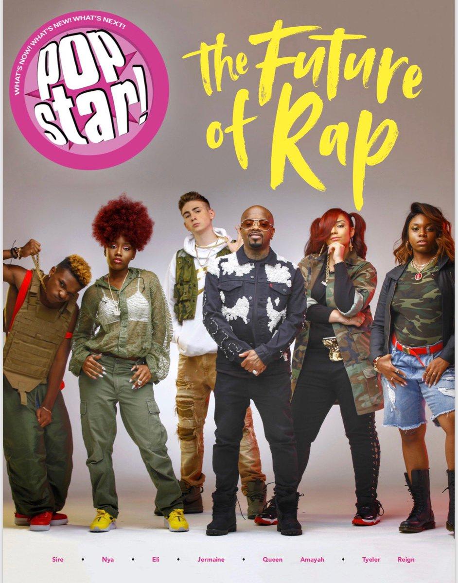 RT @jermainedupri: #TheRapGame season 5 on the cover of @popstarmagazine https://t.co/eQywSDeAMa