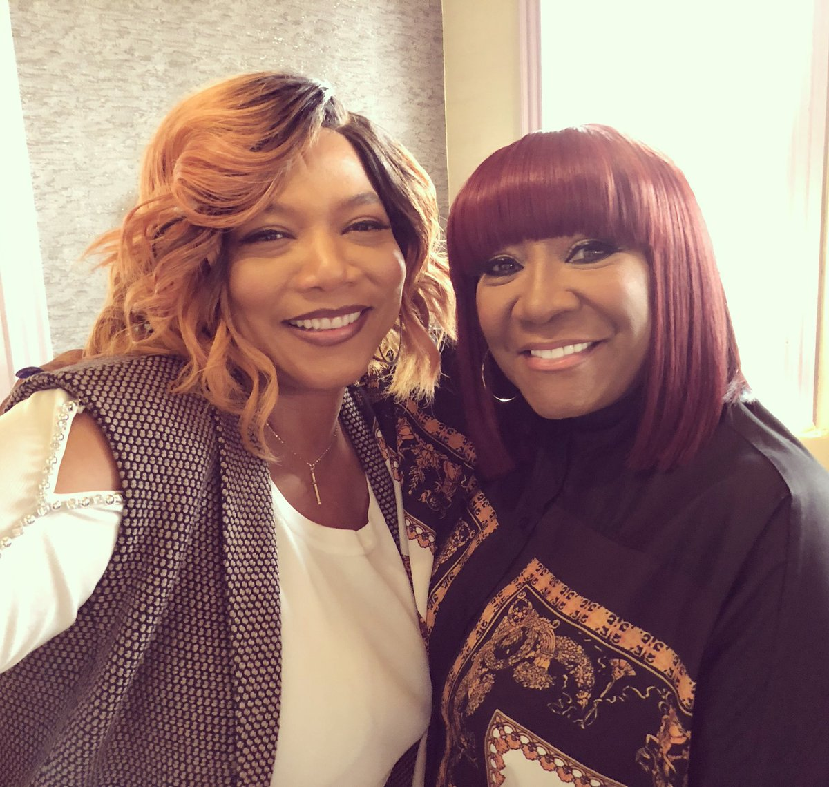 Happy to be back on the set of @STAR with the amazing @MsPattiPatti ???? #star https://t.co/FhbPAR58vP