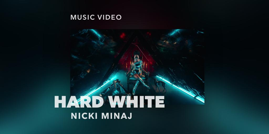 RT @TIDAL: Dropped: #HardWhite music video. @NICKIMINAJ. https://t.co/lUcugKDkjT https://t.co/L1m7YSM869