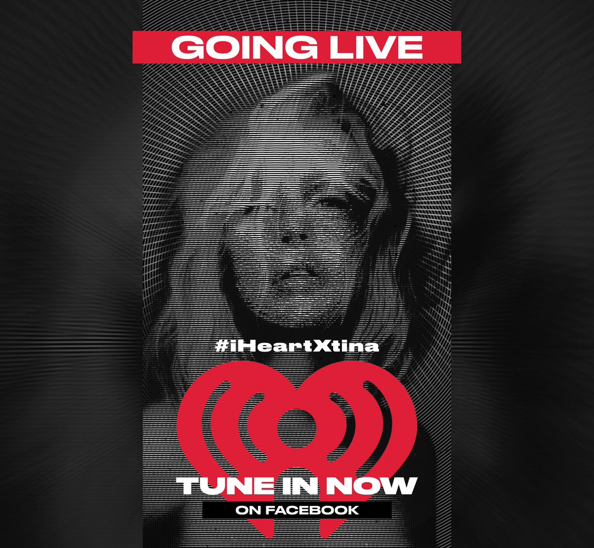 We're live ⚡️✨ come & join the party with me & @iheartradio here -> https://t.co/TViDy9dVyX #iHeartXtina https://t.co/WuBDjCIJfg