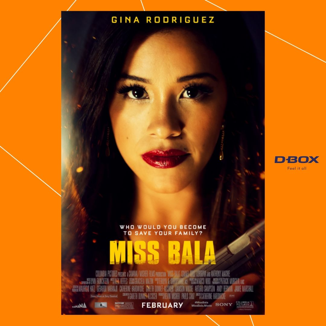 test Twitter Media - She's out and she's not giving up on her family. Buy your tickets NOW to experience #MissBala in #DBOX TODAY:⠀https://t.co/rtLJO1U9oI https://t.co/KCLvLEzFGU