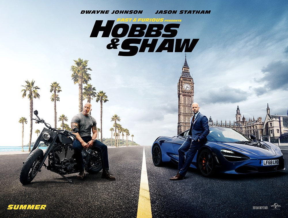 RT @WWE: The first trailer for @TheRock's @HobbsAndShaw just dropped and we can't wait! #HobbsAndShaw #FastFurious https://t.co/Nzm7GuazlC