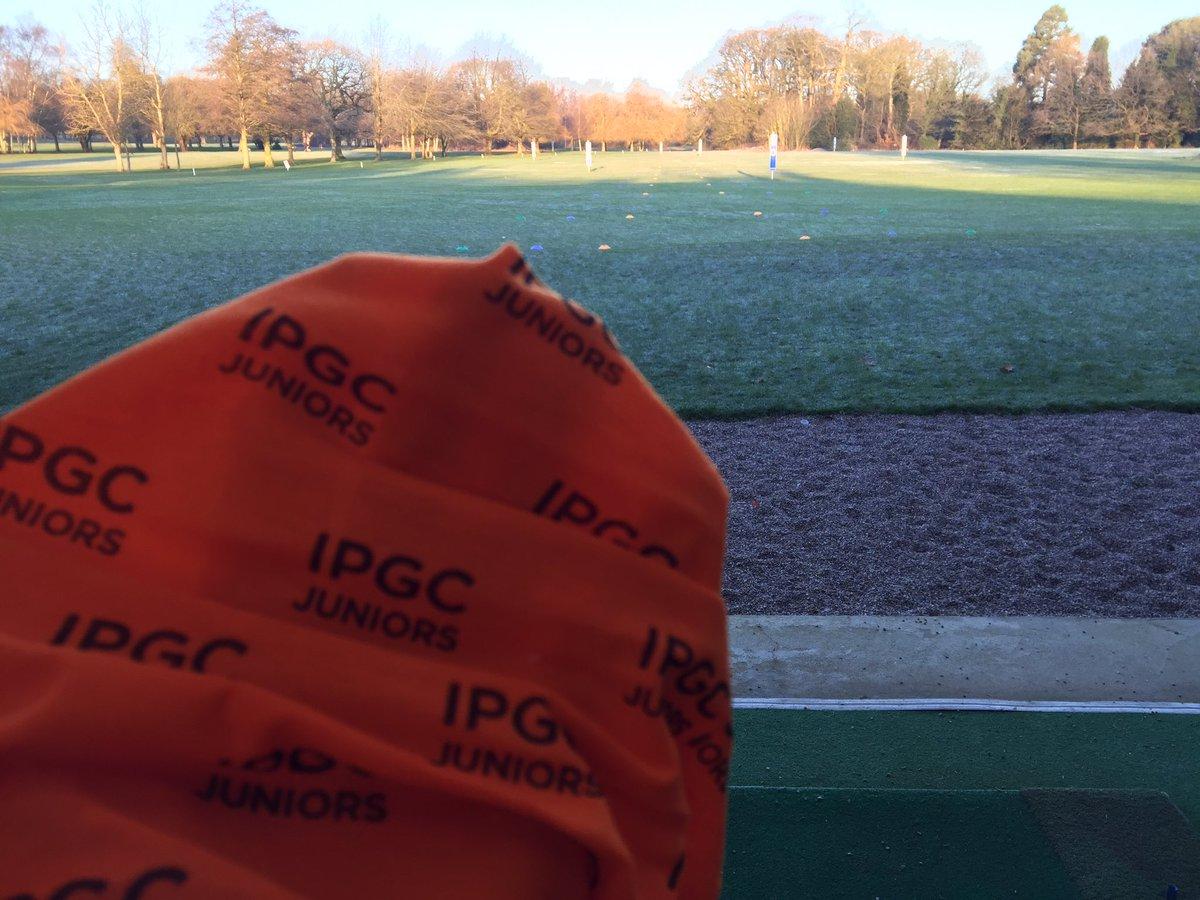 test Twitter Media - Snoods at the ready! IPGC Juniors don't let the cold stop them!  All setup for this mornings Junior Coaching. #IPGCJuniors @MidlandsGolfer @EnglandGolf @thejazzygolfer @staffsgolf @GolfRootsHQ @GirlsGolfRocks1 @EGWomensGolf https://t.co/KOAhEexZLO