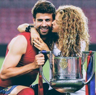 Happy birthday to the cutest couple, Piqué and Shakira!