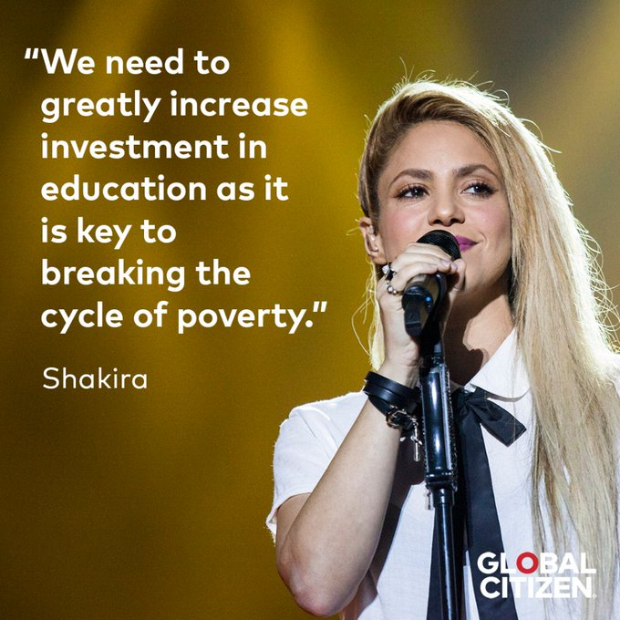 We couldn\t have said it better ourselves education is the key! Happy birthday,