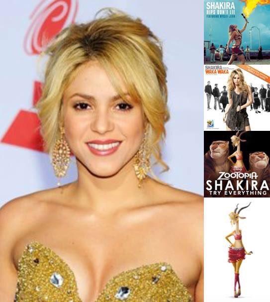 Happy birthday to Shakira!