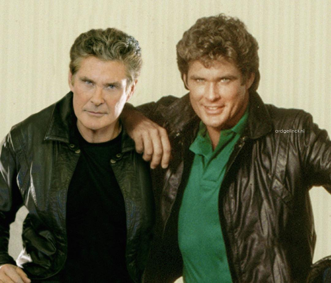 Me and my younger brother! #TheHoff #MichaelKnight #KnightRider https://t.co/o23ulUVPN3