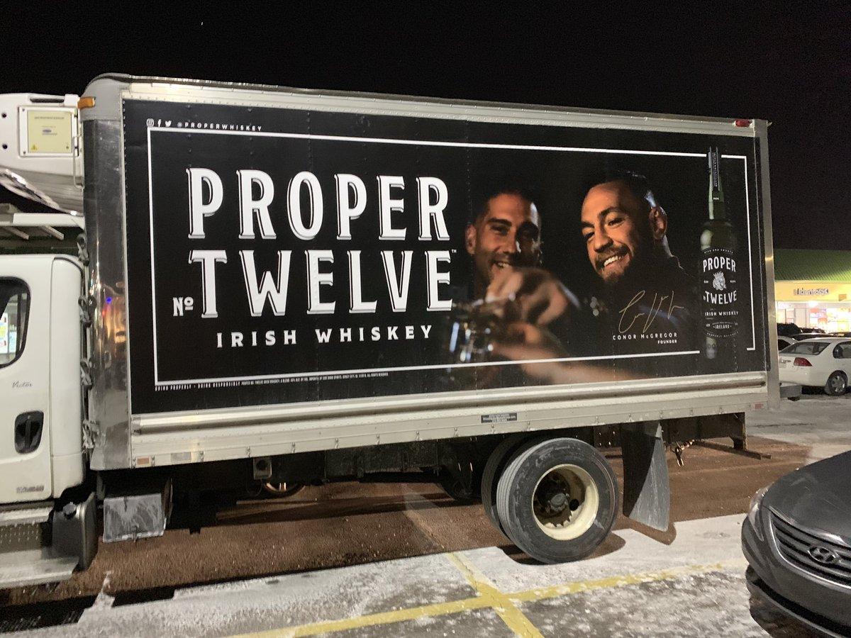 RT @Steve_Aversano: Proper Twelve truck in Bensalem Pa @TheNotoriousMMA https://t.co/lTJ37Vk1ky