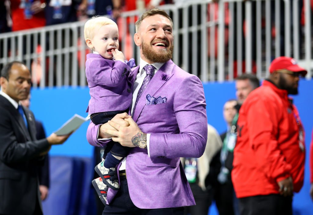 RT @BleacherReport: Conor McGregor and his son in matching lavender suits at Super Bowl LIII https://t.co/E4j1QJqdj8