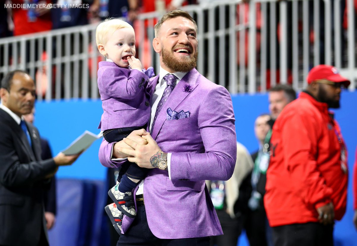 RT @espn: .@TheNotoriousMMA wasn't going to miss taking his son to the #SuperBowl https://t.co/kVsuDsFslf