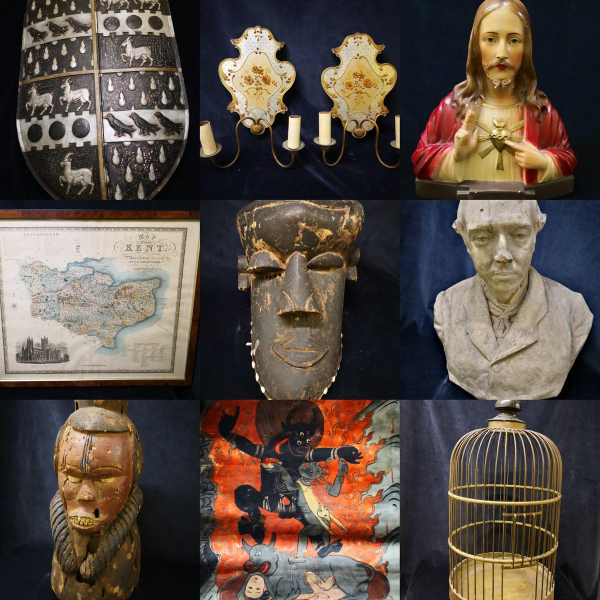 RT @AntiqueFletcher: Lots of #antique and #vintage decorative items coming on line today. #freshstock https://t.co/AKZhDgeNtR