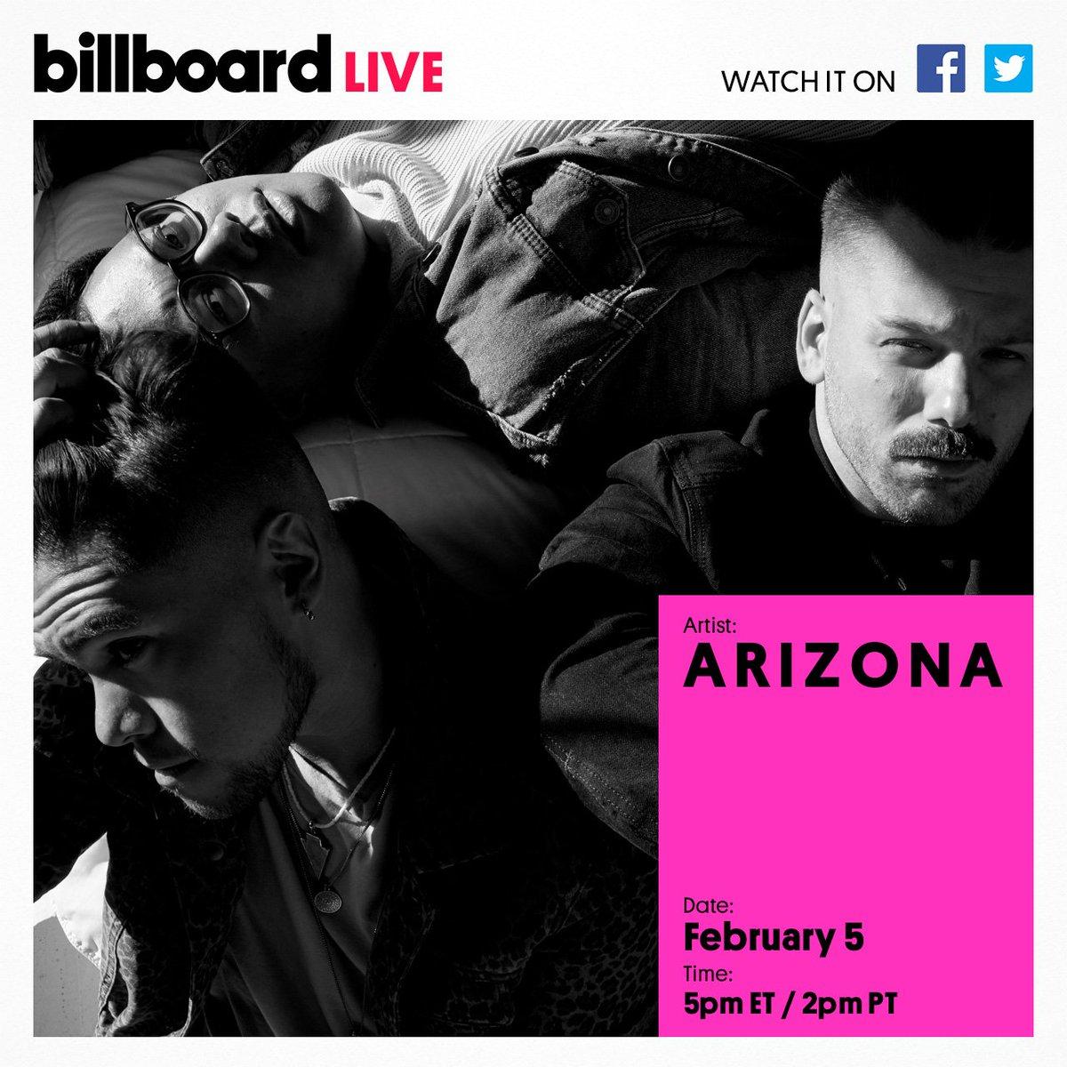 RT @billboard: Don't miss @arizona on #BillboardLive! https://t.co/cCsIUDTCDl
