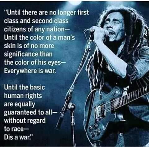 Happy birthday Bob Marley the father of foundation....