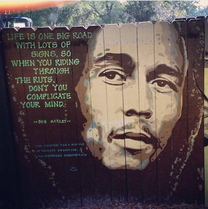 """Happy Birthday Legend - . . . \""""Bob Marley\"""""""