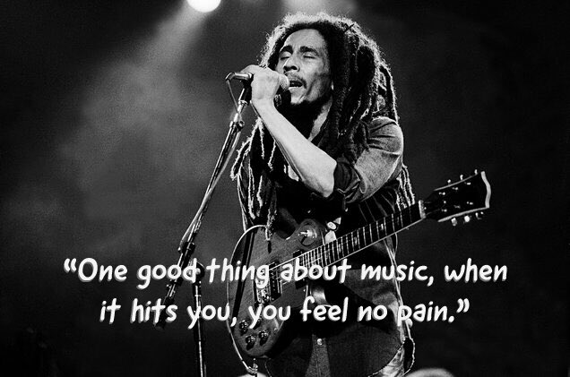 Happy Birthday Bob Marley. The wisdom in the message of your music lives forever! - TXO