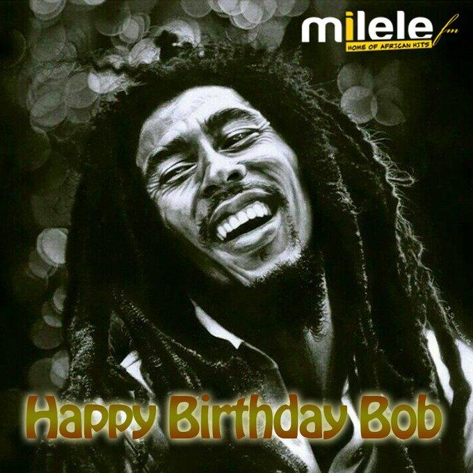 on Happy Birthday Bob Marley