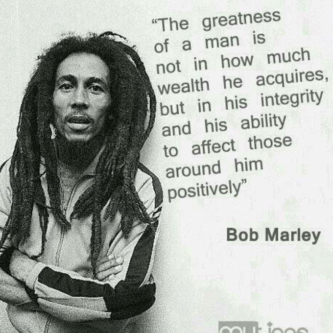Happy birthday Bob Marley Rest well LEGEND