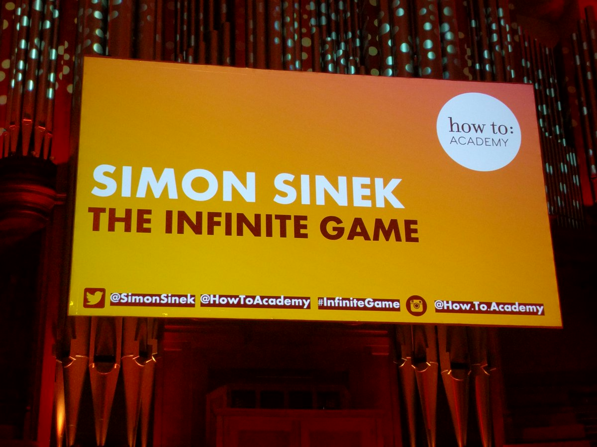 test Twitter Media - Almost ready to embark on the Infinite Game... over 2k people ready to welcome the legendary @simonsinek #InfiniteGame https://t.co/EMXwvPNbHR