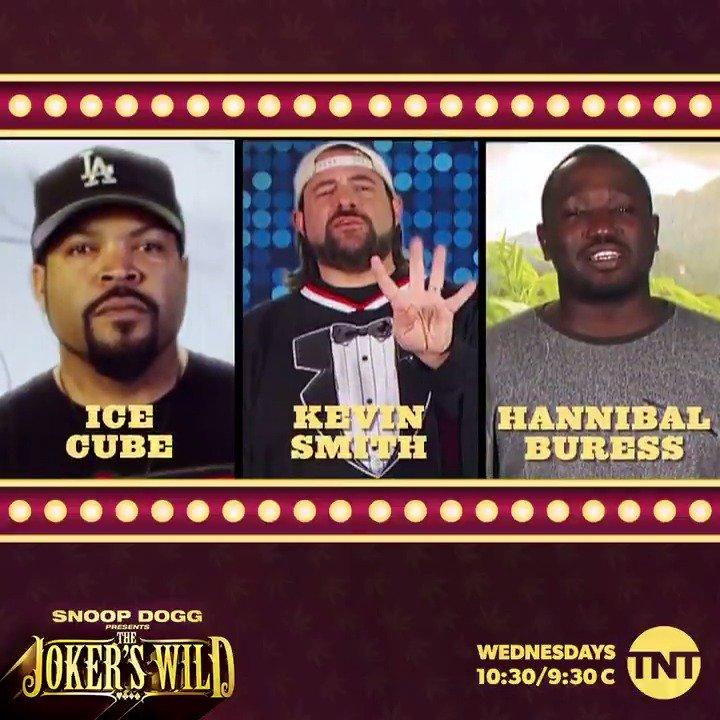 we got an all star lineup tonite on #JokersWild ???????????? 1030/930c on TNT ! @icecube @ThatKevinSmith @hannibalburess https://t.co/PAy6Iwy5kA