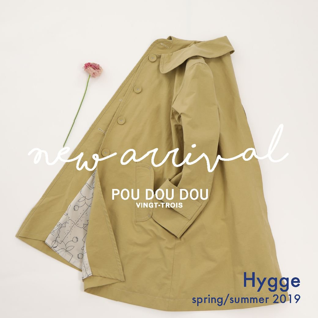 【NEW ARRIVAL】spring 2019  Hygge @poudoudouBLOG   https://t.co/QsfFPPLcxC https://t.co/YbDXtRv2aT