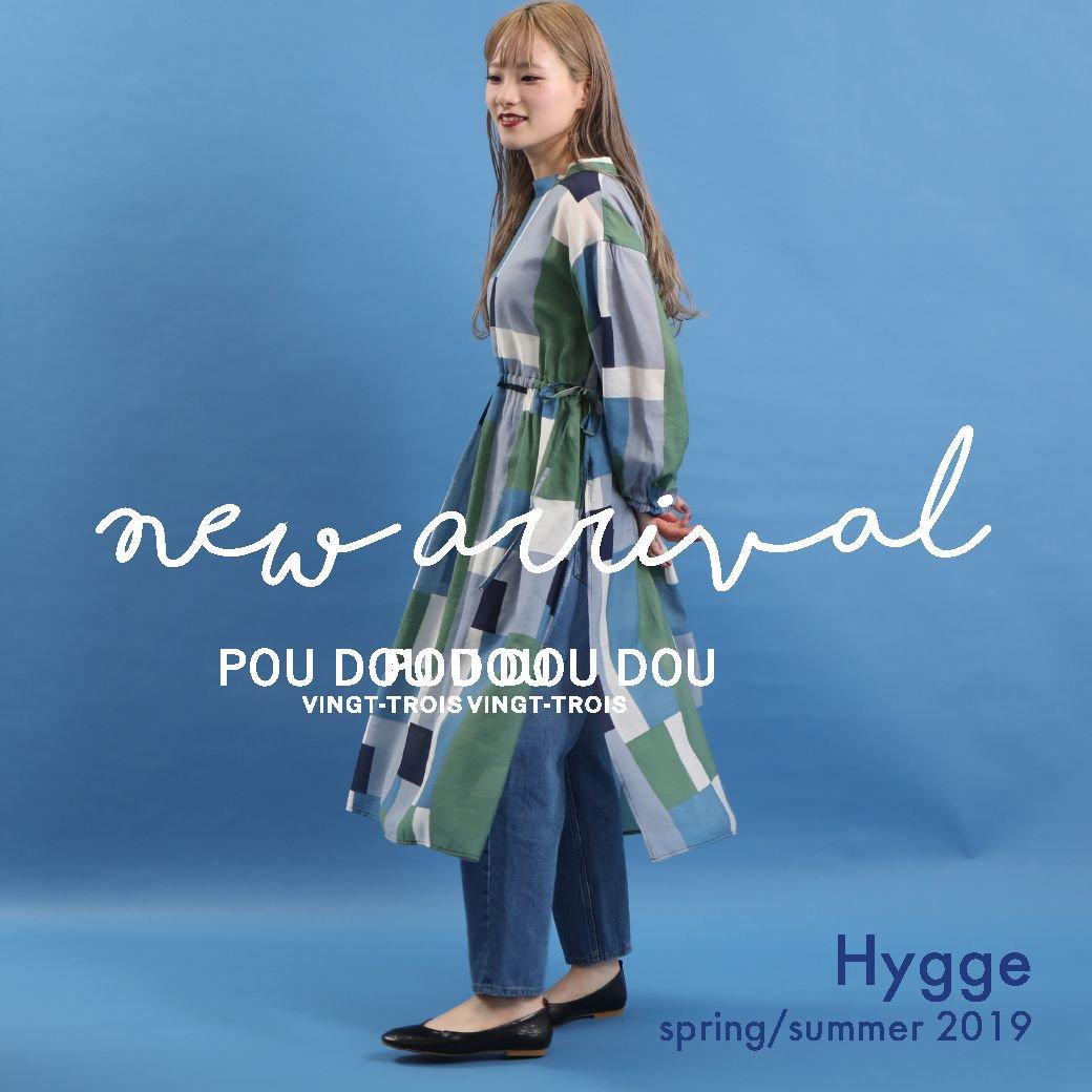 【NEW ARRIVAL】spring 2019  Hygge @poudoudouBLOG   https://t.co/QsfFPPLcxC https://t.co/7ZYfGjMnTM