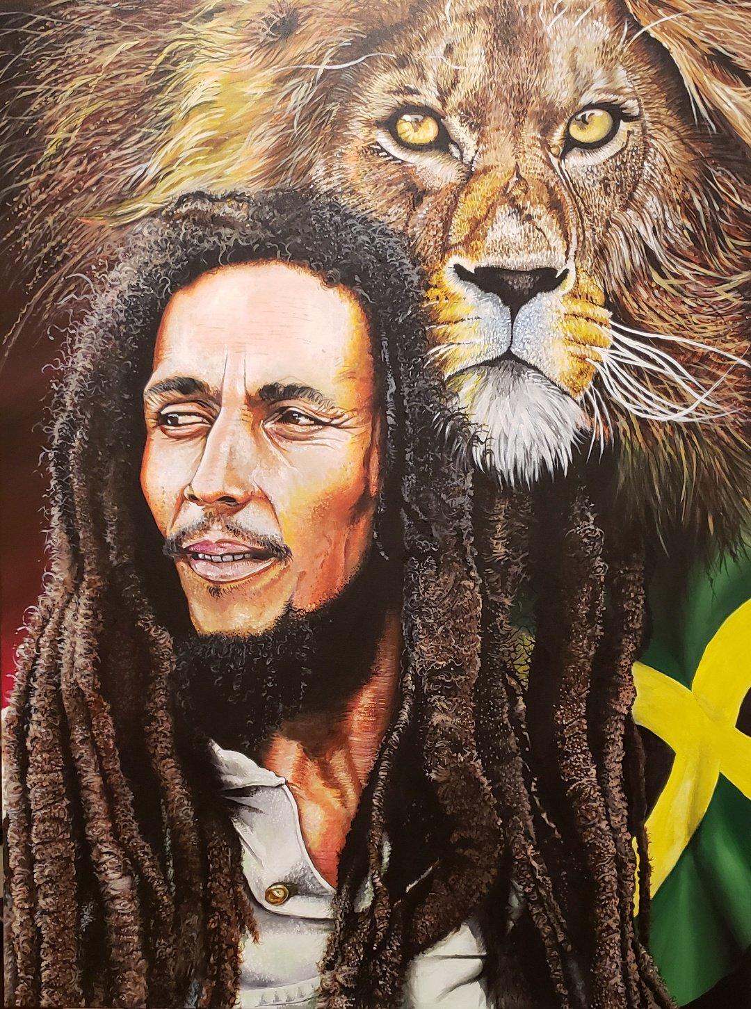 Happy birthday to a true legend... Bob Marley.  : Mark Pacich