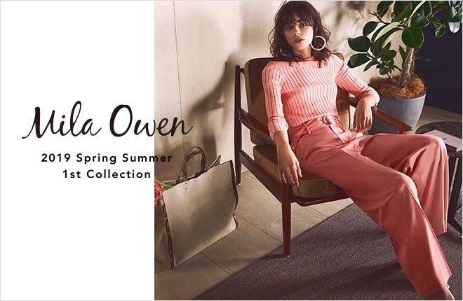 【Mila Owen】 春の最新カタログが本日公開✨ カラフルな春の最新コレクションを 是非ご覧ください!  ✔https://t.co/dDb5SmzXBL #milaowen #ミラオーウェン #ウサギオンライン https://t.co/J3j2SN7O8L