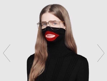 RT @thisis50: Gucci issues apology following over balaclava sweater that resemblesblackface https://t.co/E98UDRVsPc https://t.co/U9yu6XDvrH