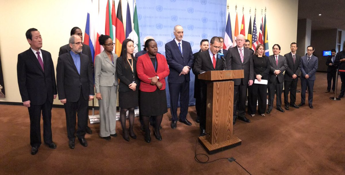 test Twitter Media - #Venezuela Fri meeting of Maduro support nations @UN aft ForMin @jaarreaza meets 2:30pm wUN SecGen ~ @UN wSyria, Iran, North Korea, Russia https://t.co/snRPPfG9K0