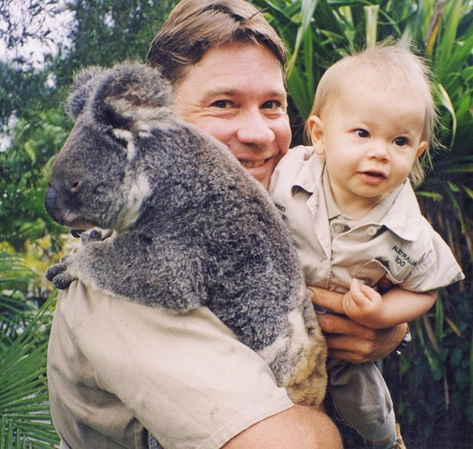 """""""Thank you for always being my guiding light. ?"""" - Bindi Irwin"""