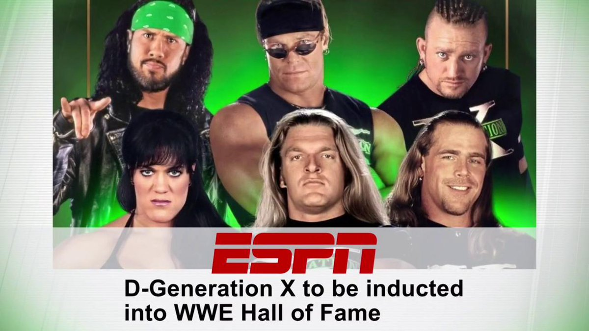 RT @WWE: Are you ready?  #DGenerationX will be inducted into the #WWEHOF Class of 2019! #SDLive https://t.co/GoqHvUkWa4