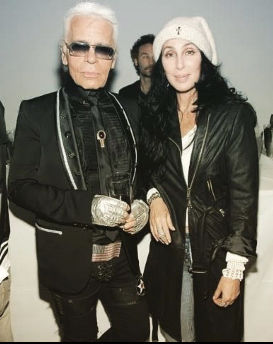 Karl Was Funny,Sweet, AND AN AMAZING TALENT‼️HE IS MISSED???? Look At His Beltbuckle???? HE LOVED CHROME HEARTS https://t.co/KkbIUNWXit