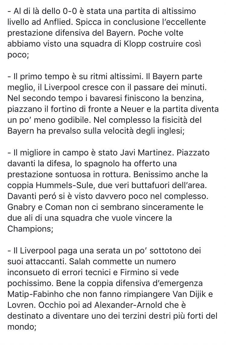 #LiverpoolBayern