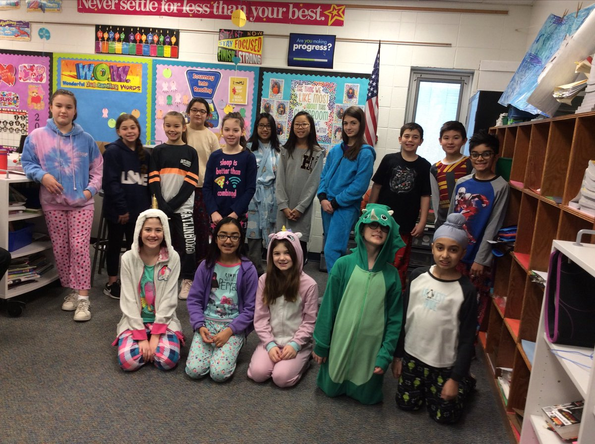 test Twitter Media - Pajama day today. Everyone rolled out of bed and arrived at school on time! #d30learns https://t.co/ZjaekqxK7s