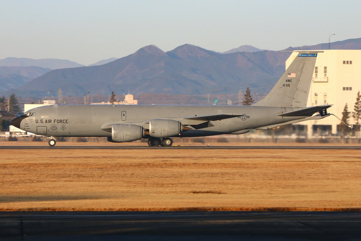 test ツイッターメディア - 2/20 横田基地 ·KC-135R(61-0315) 63,91,911ARS(MacDill AFB) ·B747-4H6(BCF)(N741CK) Kalitta Air https://t.co/MkBr0ycnLy
