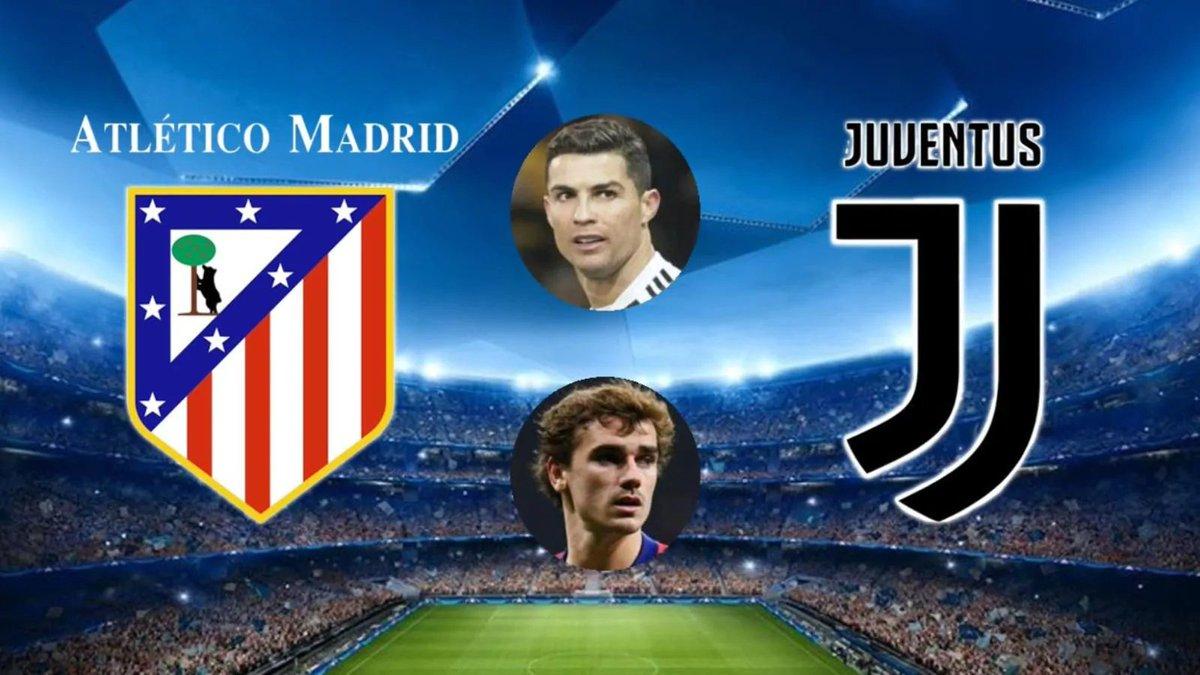 #AtleticoMadridJuventus