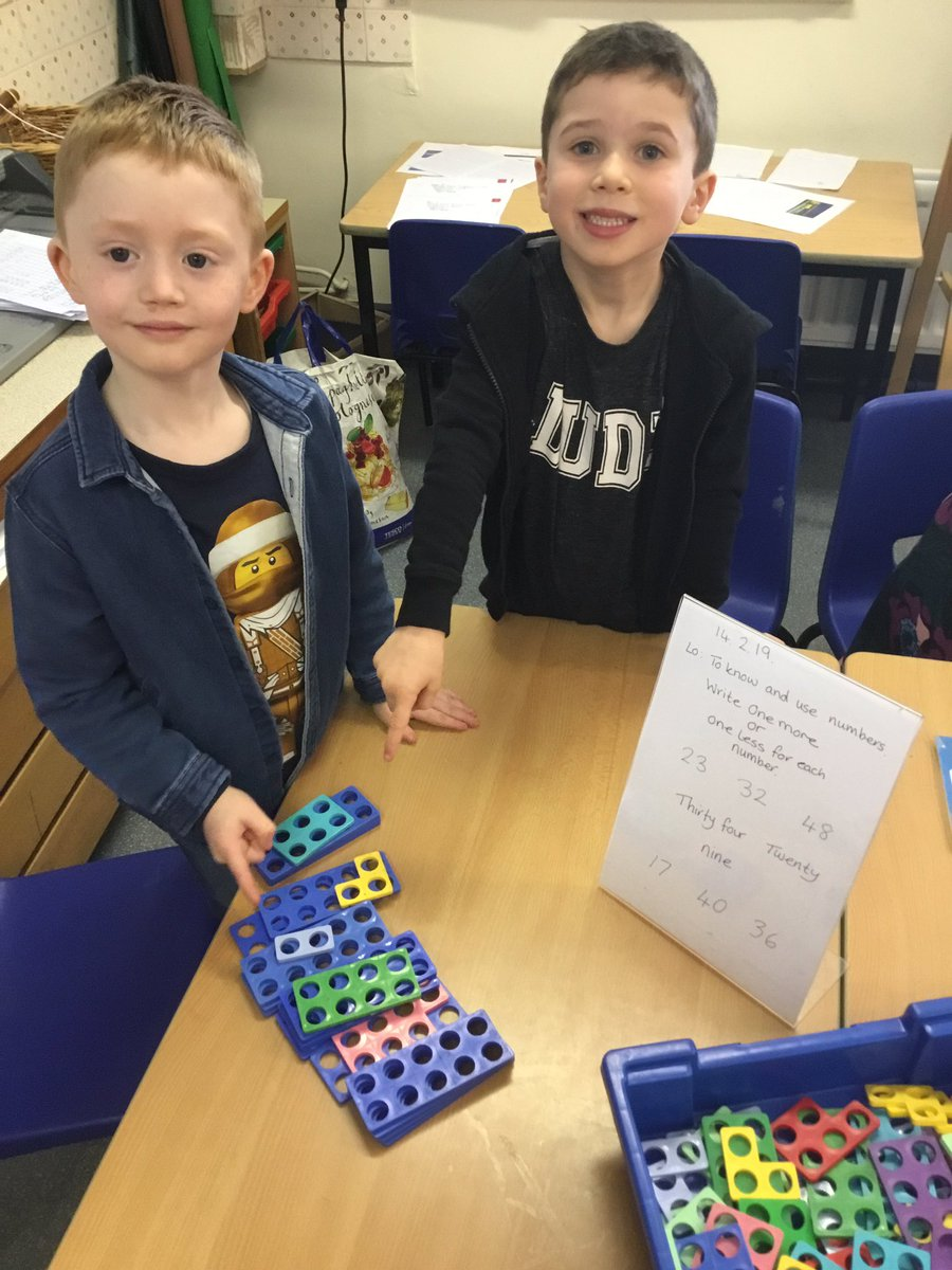 test Twitter Media - Representing numbers to 50 then showing one more and one less than each number #gorseymaths https://t.co/vVxitq0sHB