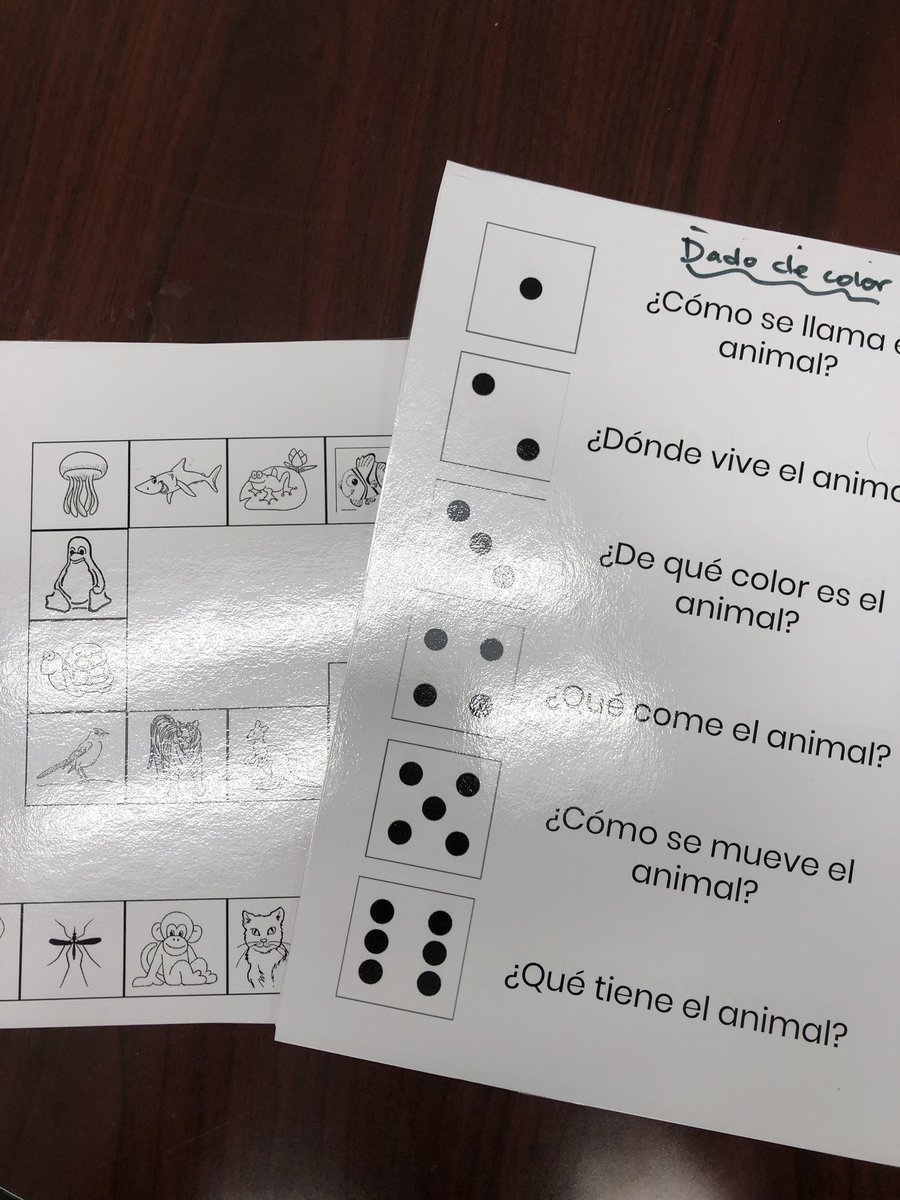test Twitter Media - A new take on a regular board game. Roll 2 dice - colored one to know which ? To answ and white one to move spaces. Fun way to practice at end of the unit #earlylang #langchat #d30learns https://t.co/525Eb4B8Qg