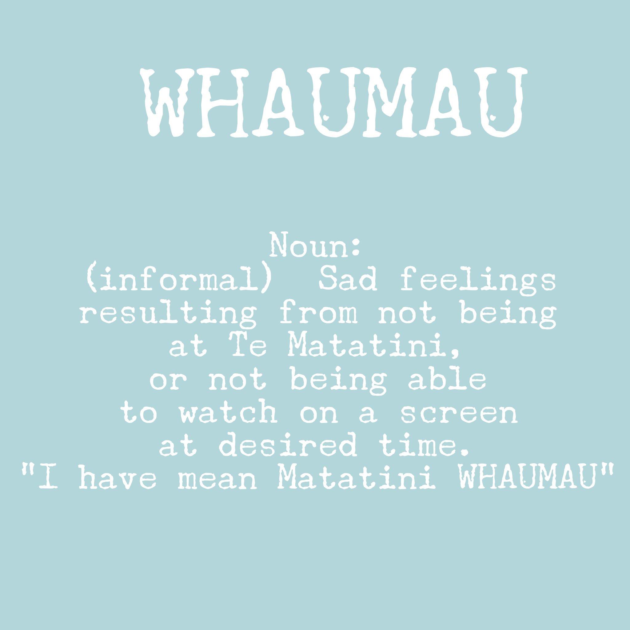 Ok it's not a word.. But it's word play in Te reo Māori 😬 https://t.co/gNN0aSw08Y