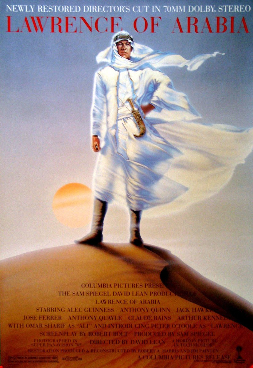 #AdmitMoviesYouveNeverSeen  Lawrence of Arabia  (still very much ashamed about it)  ???? https://t.co/Z5sWl9SSES