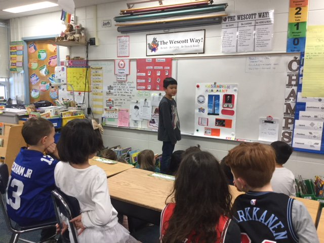 test Twitter Media - Two wonderful presentations today.  We learned about the history of the Golden Gate Bridge thanks to Eleanor and the Washington Monument courtesy of Eric.  #d30learns https://t.co/9kUpVIubln